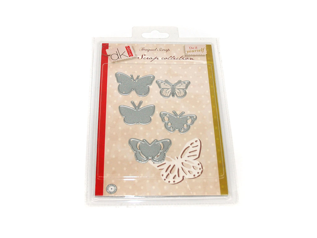 TROQUEL SCRAP MARIPOSAS 5 PCS. cod. 2501069