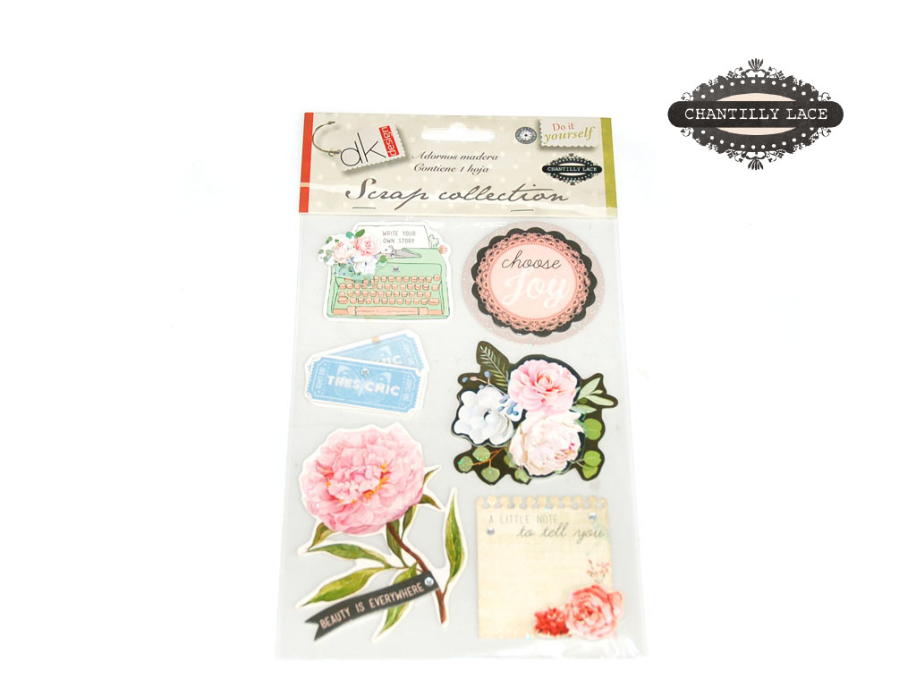 ADORNOS PAPEL CARTON CHANTILLY LACE cod. 2501280