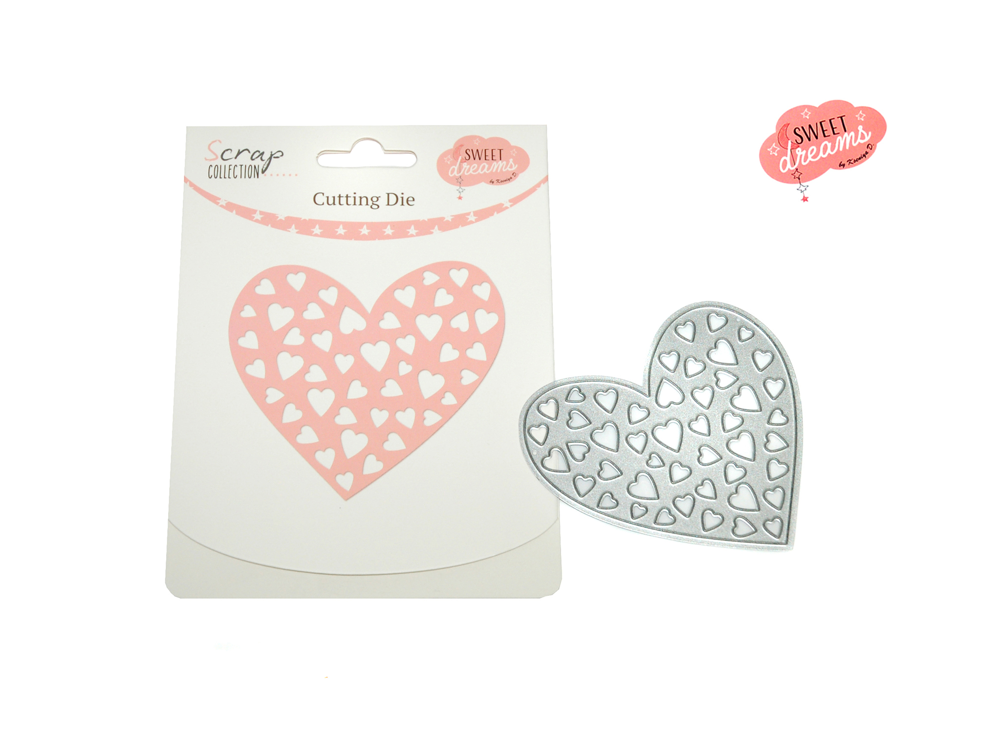 CUTTING DIE CORAZON SWEET DREAMS GIRL cod. 2501802