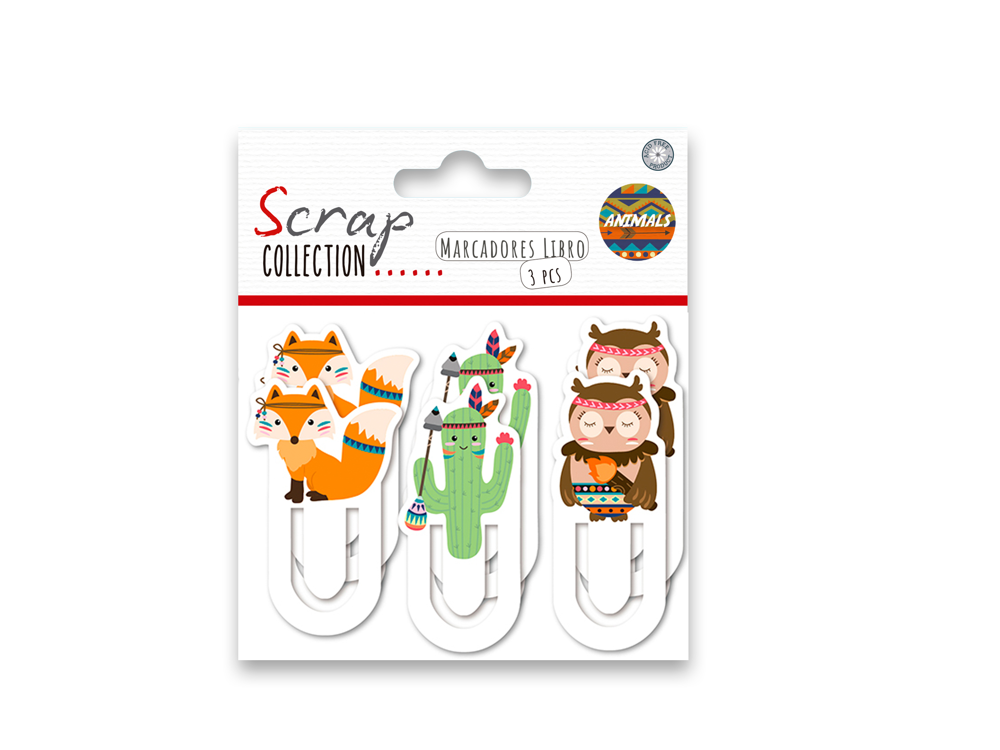 SET 15 MARCADORES LIBRO ANIMALS cod. 2501864