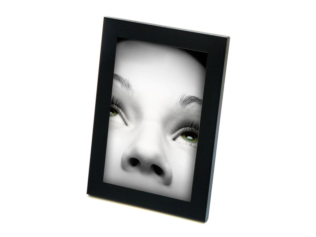 PORTAFOTO METAL COLOR 10X15 NEGRO cod. 3500236